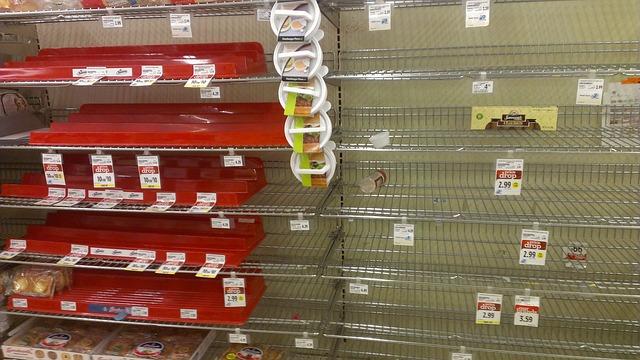 rodutos mais procurados nos supermercados devido ao Coronavírus.